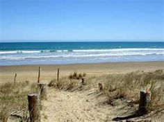 90 mile beach in Kaitaia, New Zealand