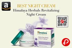 Amazon brings Best Night Cream and offering 8% off on Himalaya Herbals Revitalizing Night Cream 50gm at Rs.184 Only. Nourishes skin while you sleep, Adds nutrients to skin, Renews skin cells.   http://www.paisebachaoindia.com/himalaya-herbals-revitalizing-night-cream-50gm-at-rs-184-only-amazon/