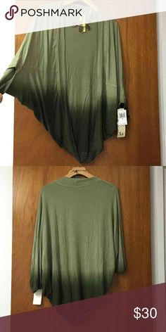 NWT Ombré Cacoon Cardigan Kimono Top S NWT Ombré Cocoon Cardigan Kimono Top S. Mint condition! Took out of the package and need to steam but it's smooth, soft material. Sweaters Cardigans