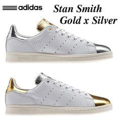 ◆adidas◆Stan Smith Gold × Silver