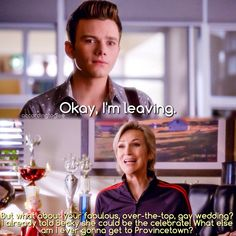 "#Glee 6x04 ""The Hurt Locker, Part One"" - Kurt and Sue"