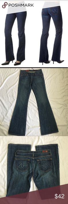 AG Adriano Goldschmied BootCut Jeans Size 26 AG The Club bootcut jeans. EUC. Size 26. Inseam approximately 32 inches. 98% cotton/2% lycra. Please see pictures for all other measurements. Ag Adriano Goldschmied Jeans Boot Cut