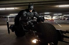 Dark Knight on Cycle
