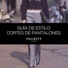 Guía de estilo: cortes de pantalones #moda  :: Felicity Urban ::