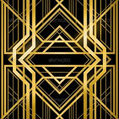 Art Deco Grille - Backgrounds Decorative