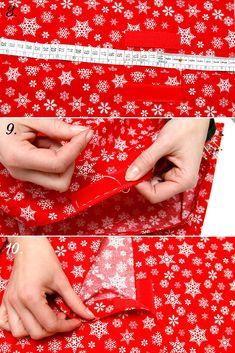 Díl 3. Návod na povlak na polštář a dárkový pytlíček | DůmLátek.cz - e-shop látky, metráž, galanterie Gift Wrapping, Gift Wrapping Paper, Wrapping Gifts, Gift Packaging