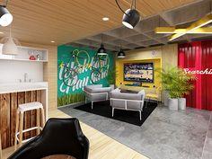 Diseño interior para oficinas Cj Martins (Manizales-Colombia)Proyecto en construcción.