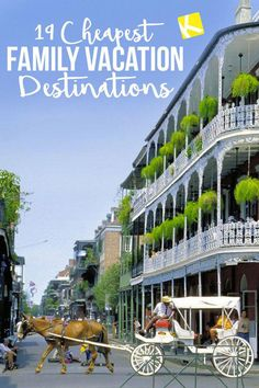 19 Cheapest Family Vacation Destinations for This Summer - To stay on budget, look for little hidden gems within driving distance that don't cost much money. Here's a start! Vacation Places, Places To Travel, Travel Destinations, Cheapest Vacation Spots, Vacation Shirts, Fun Vacation Spots, Vacation Pictures, Summer Vacation Ideas, Best Family Vacation Destinations