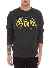HOTTOPIC.COM - DC Comics Classic Batman Crewneck Sweatshirt