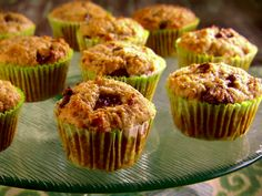 Mexican Chocolate-Banana Muffins from FoodNetwork.com. I love these muffins, and I make them all the time!  I usually substitute the Mexican chocolate for milk chocolate chips.
