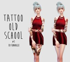 Tattoos Old School - The Sims 4 Catalog Sims 4 Pets, Sims 5, Maxis, Sims 4 Hair Male, Sims 4 Tattoos, Sims4 Clothes, Sims 4 Cc Packs, Sims 4 Cc Skin, The Sims 4 Download