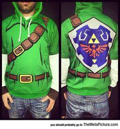 This Legend Of Zelda Hoodie Is Amazing