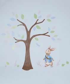 This Peter Rabbit Tree Decal is perfect! #zulilyfinds