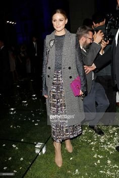 Olivia Palermo attends the Salvatore Ferragamo show during Milan Fashion  Week Spring Summer 2018 on b0e5dc1ff9db8