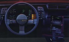 The dashboard in my Berlinetta.......I loved that car!  It was red!