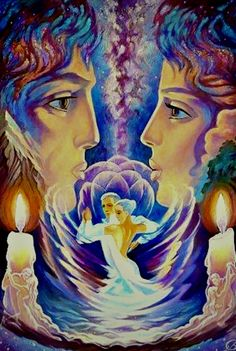 Trinity Symbol, Ascended Masters, Hippie Love, Angel Cards, Oracle Cards, Couples In Love, Eternal Flame, Peace And Love, Celestial