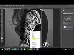 How To Make A Realistic Tattoo In Photoshop Full Tutorial