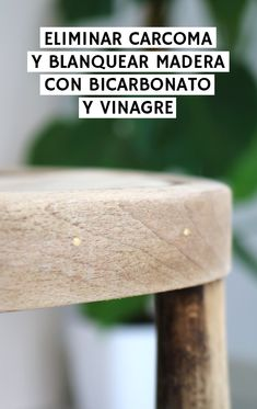 Cómo acabar con la carcoma y blanquear madera con bicarbonato | 2nd Funniest Thing Recycled Furniture, Art Furniture, Furniture Makeover, Paint Recycling, Furniture Restoration, Diy Projects To Try, Chalk Paint, Home Deco, Wood Art