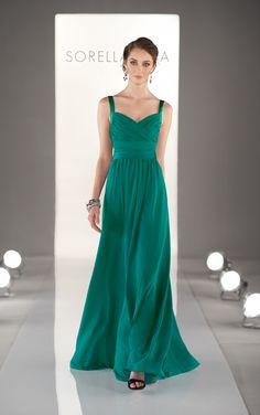 Mint green bridesmaid dress by Sorella Vita (Style 8380)
