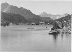 Rac Lake, Kings River Canyon, California by Ansel Adams