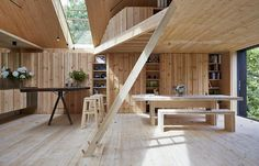 cornwall cross laminated timber house - Google Search