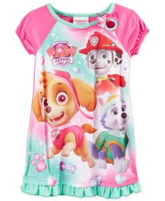 AME Little Girls' Paw Patrol Nightgown | macys.com