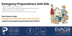 Make A Plan, Child And Child, Emergency Preparedness, Children, Kids, At Least, Family Safety, Positivity, Activities