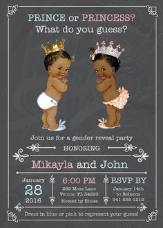 10 Baby Gender Reveal Party Ideas | Baby Shower >> Gender Reveal ...