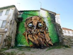 Owl Eyes - by Artur Bordalo, Portuguese