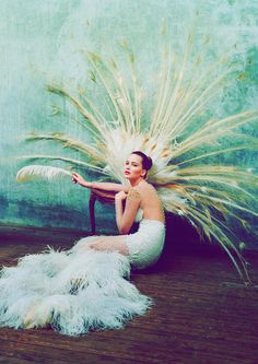 W Magazine 2012 - Jennifer Lawrence by Tim Walker