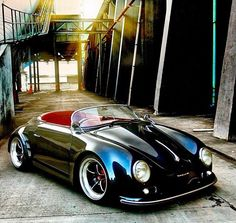 356 Speedster - Cars and motorcycles - - Autos und Motorräder - Cars Porsche Sports Car, Porsche Cars, Beetles Volkswagen, Volkswagen Bus, Vw Camper, Vans Vw, Vintage Cars, Antique Cars, Porsche Sportwagen