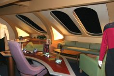 Captain Picard's quarters 501 | Flickr - Photo Sharing!