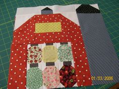 newest quilt barn block.................