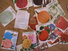 Seed packets for Ope