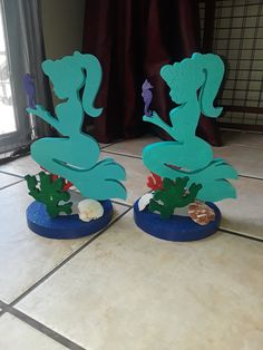 Mermaid Centerpiece/Mermaid Baby Shower Centerpiece/Mermaid Theme Centerpiece/Mermaid Birthday Centerpiece/Purple and Turquoise Centerpiece Little Mermaid Centerpieces, Turquoise Centerpieces, Mermaid Birthday Decorations, Mermaid Party Favors, Birthday Party Centerpieces, Baby Shower Centerpieces, Birthday Party Decorations, Mermaid Diy, Baby Mermaid
