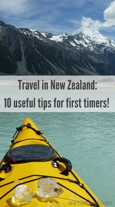 10 Useful tips for first time travellers to New Zealand - read our blog and learn more about food, wifi and much more!