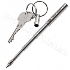 Telepen - telescopic pen that's easy to carry on a keyring True Utility, Camping Equipment, Outdoor Gear, Gears, Led, Personalized Items, Tools, Instruments, Gear Train