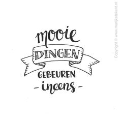 handlettering workshop – Happy You Workshops – Apeldoorn Bullet Journal Ideas Pages, Bullet Journal Inspiration, Handlettering For Beginners, Words Quotes, Me Quotes, Qoutes, Note Doodles, Dutch Quotes, Empowering Quotes