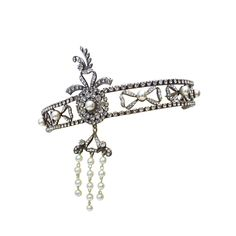 Edwardian Diadem Headband Tiara | From a unique collection of vintage more jewelry at https://www.1stdibs.com/jewelry/more-jewelry-watches/more-jewelry/
