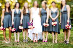 Bridal Shoes & Bouquets