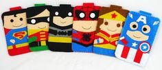 Hero collection Handmade Spiderman iphone, iphone 4S felt cell phone case (FREE SHIPPING)