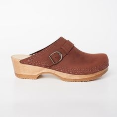Buckle Strap Clogs - Sven Style # 8913
