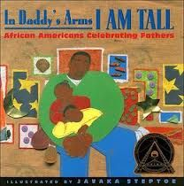 """The 1998 Coretta Scott King Illustrator Award winner was Javaka Steptoe for """"In Daddy's Arms I am Tall: African Americans Celebrating Fathers,"""" written by Alan Schroeder. African American Writers, African American Culture, American Children, American Food, American History, Coretta Scott King, King Book, Collection Of Poems, Trend Fashion"""