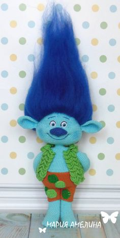 Branch Amigurumi Crochet Pattern by Maria Amelina