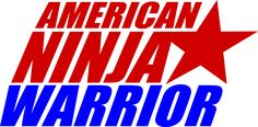 American Ninja Warrior Logo for me to print and use as water bottle labels.