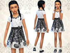 The Sims Resource: Little Fashion by Zuckerschnute20 • Sims 4 Downloads
