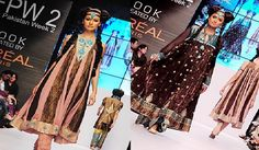 """Fashion designer Zarmina the international style with an Indian soul, """"the philosophy behind spectacular Ethnics. Zarmina Khan's personal decorations every organization needs to understand that this is a piece of art. His creations Fashion Pakistan Week 2 day 5, the forte color, texture and pattern but modern blending a unique testimony to the fact that I lied. He emerged and with Patterned silks and jamawars white chickenkari used as a primary"""