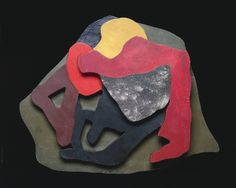 Amorphous Shapes Low-Relief Sculpture in corrugated card - artist focus Hans Arp Jean Arp, Elements And Principles, Elements Of Art, Action Painting, Painting On Wood, Sophie Taeuber, Hans Richter, Francis Picabia, Cleveland Museum Of Art