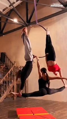 Aerial Dance, Aerial Hoop, Aerial Arts, Aerial Silks, Gymnastics Tricks, Gymnastics Workout, Gymnastics Girls, Choreography Videos, Dance Videos