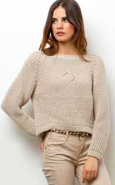 Knitting Fabric Design 16 Ideas For 2019 Sweater Knitting Patterns, Knitting Yarn, Chunky Knitwear, Lang Yarns, Neutral Outfit, Fashion Sewing, Moda Online, Sweater Fashion, Crochet Clothes
